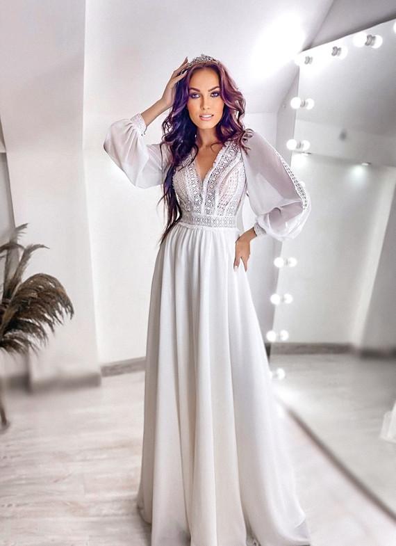 Свадебное платье Алина споса 1502