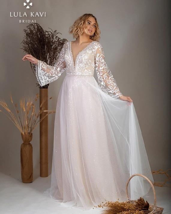 Свадебное платье Лула Кави 1578