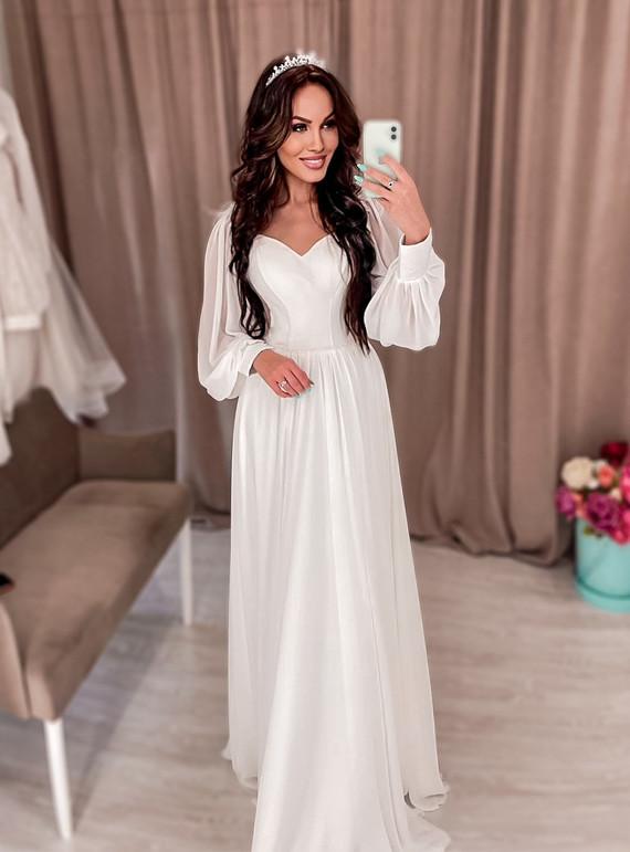 Свадебное платье Алина споса 1251