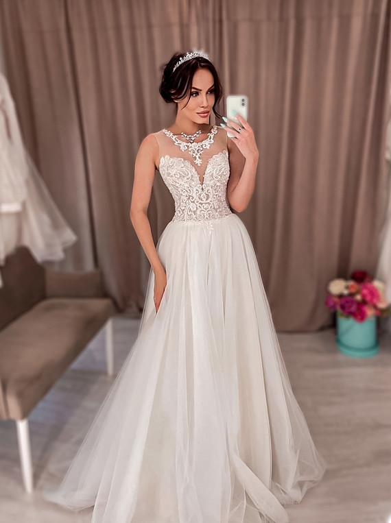 Свадебное платье Алина споса 1347