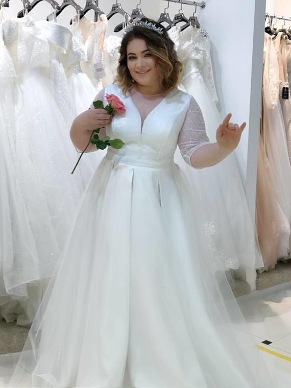 Свадебное платье Кристалл 1553