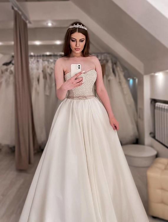Свадебное платье Алина споса 1260