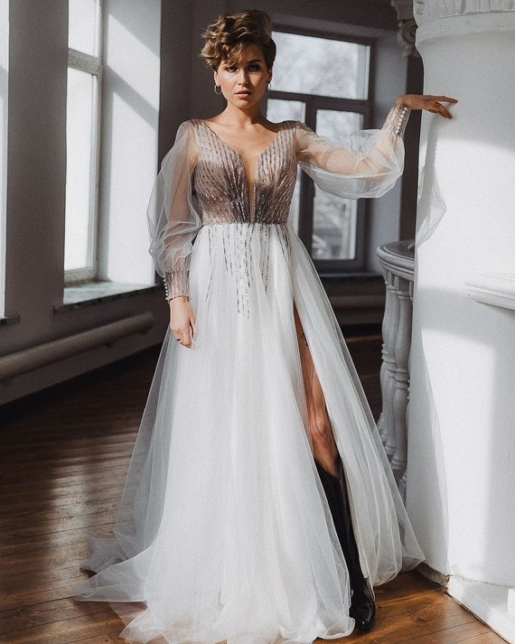 Свадебное платье Миранова 1518