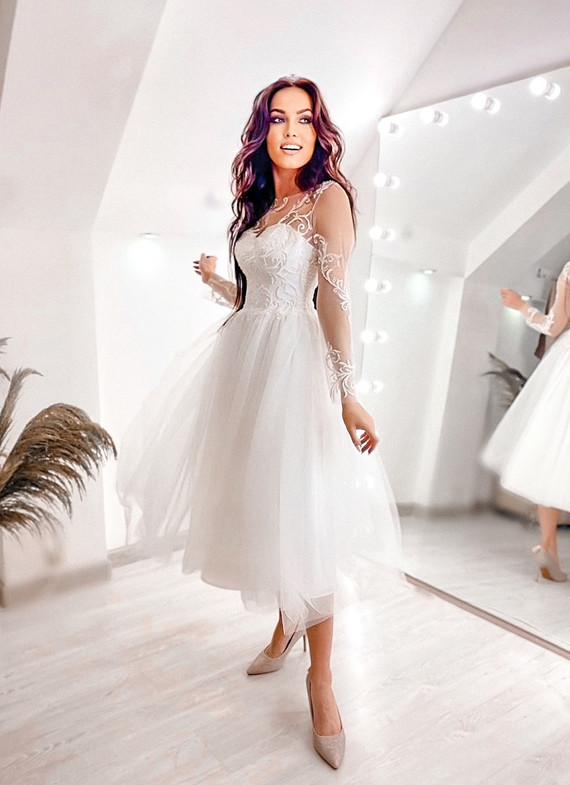 Свадебное платье Алина споса 1508