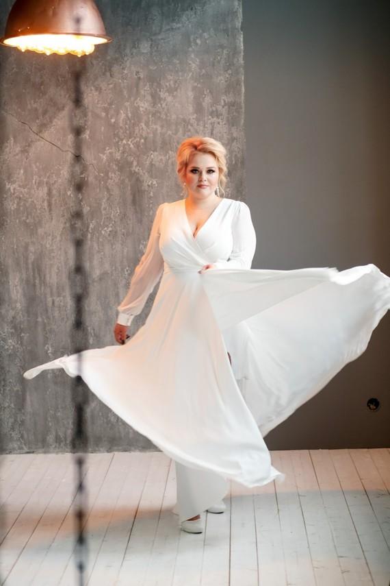 Свадебное платье Кристалл 1573