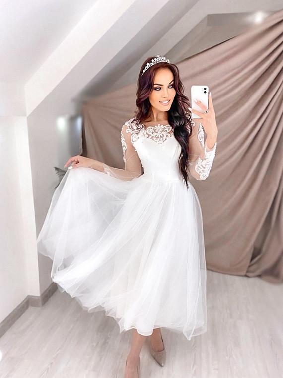 Свадебное платье Алина споса 1509