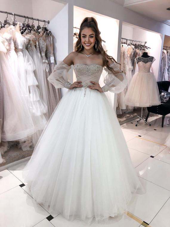 Свадебное платье Алина споса 1294
