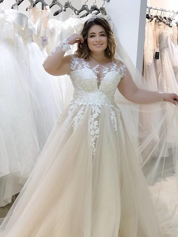 Свадебное платье Жозель 1552