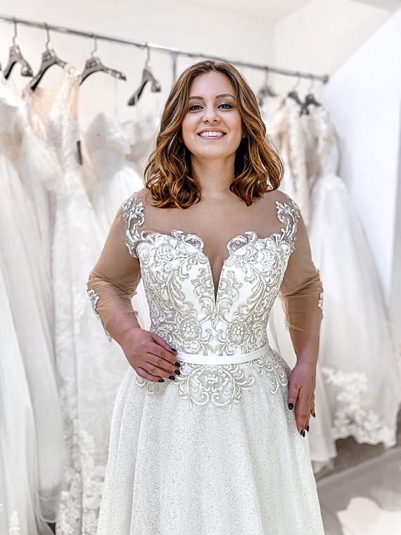 Свадебное платье Инесса споса 1402