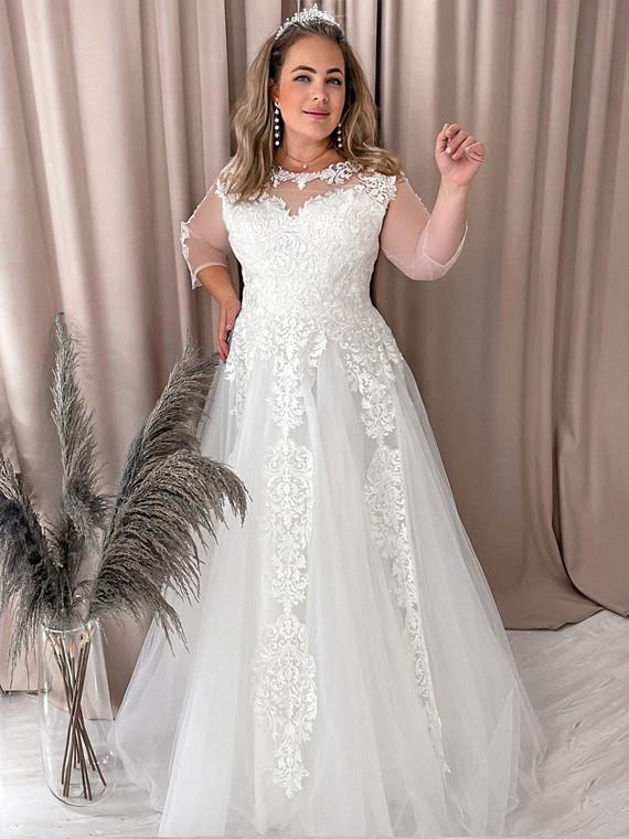 Свадебное платье Алина споса 1386