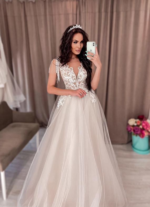 Свадебное платье Алина споса 1336