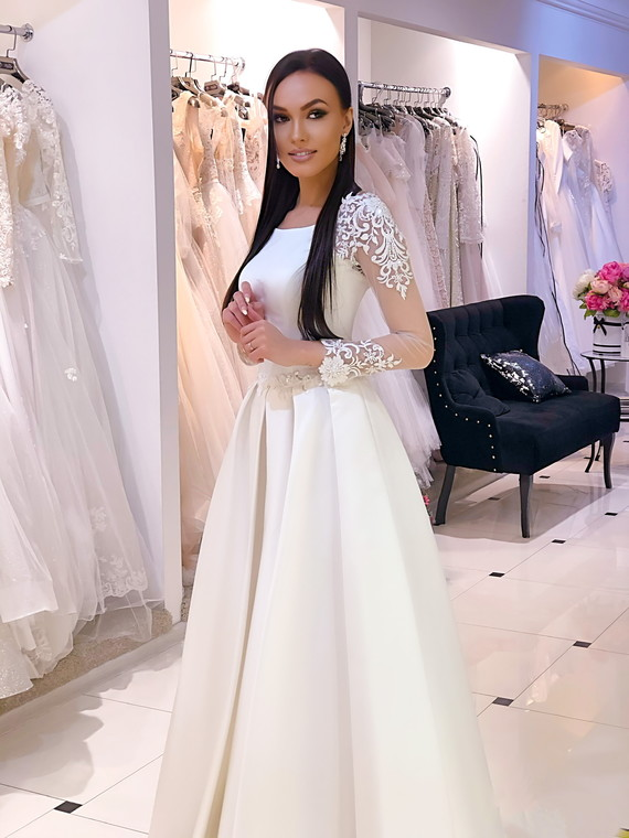 Свадебное платье Алина споса 1287