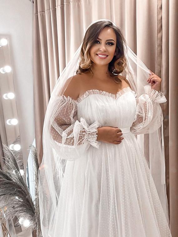 Свадебное платье Vip 1373