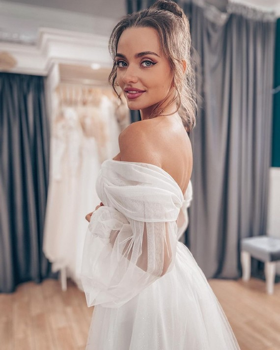 Свадебное платье Алина споса 1240