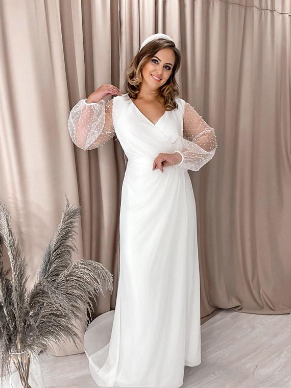 Свадебное платье Кристалл 1381