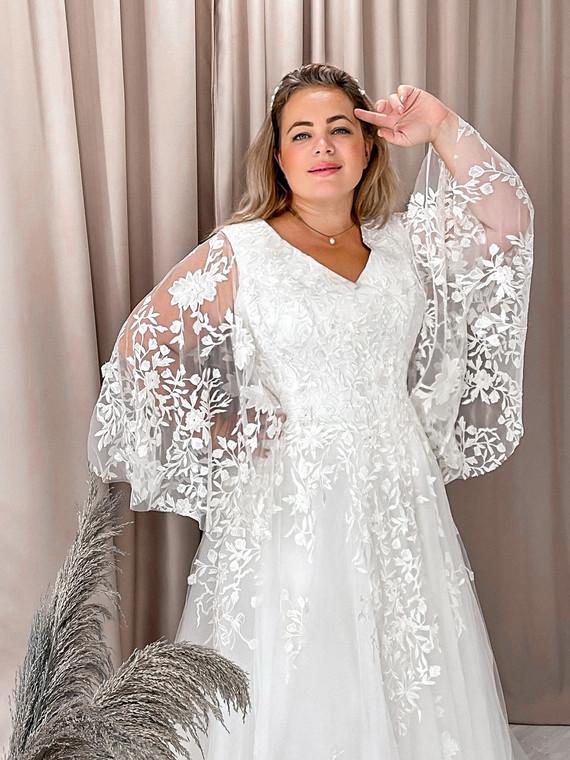 Свадебное платье Лебедь