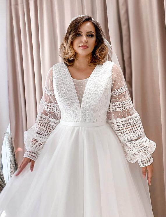 Свадебное платье Алина споса 1388