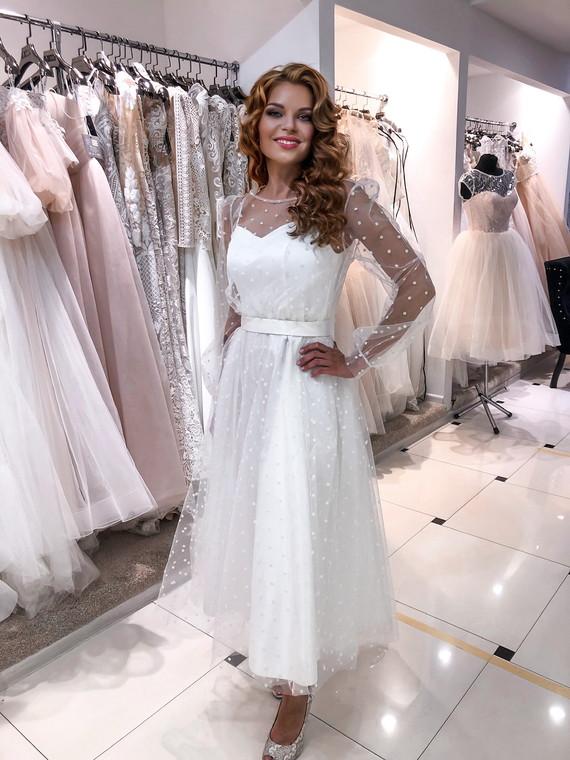 Свадебное платье Кристалл 1319