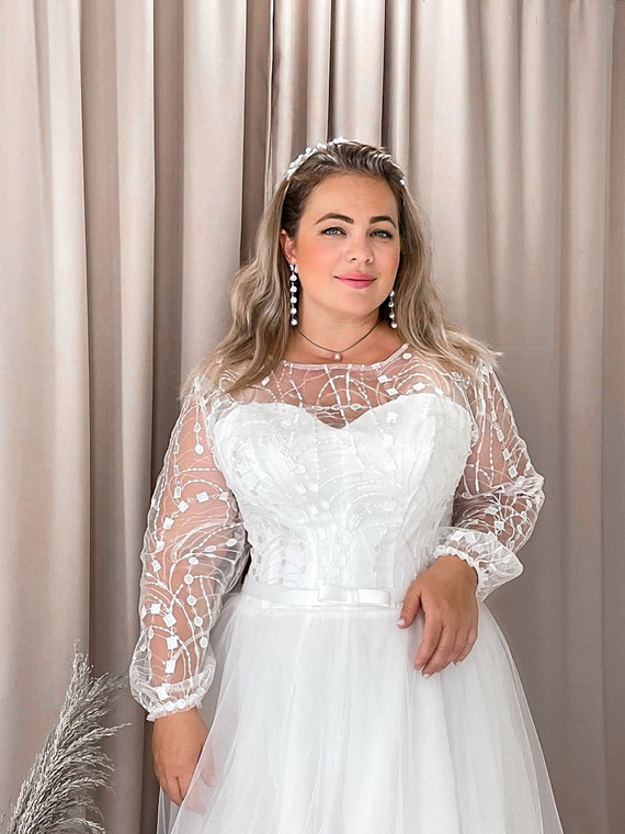 Свадебное платье Инесса споса 1387