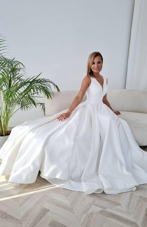 Свадебное платье Челси бридал 1540
